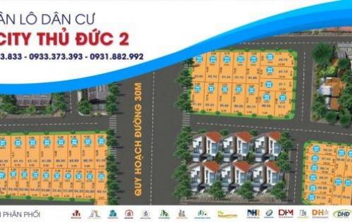 Bán lô đất đường Ngô Chí Quốc quận THủ Đức 80m2, shr giá chỉ 2ty5