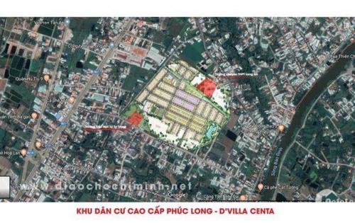 Mở Bán 200 Nền Đất Giai Đoạn Đầu TT Tp Tân An-Giá 820tr/nền-SHR