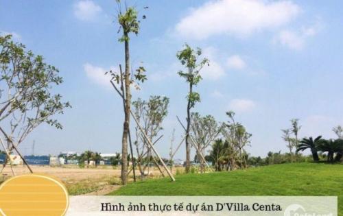 Đất Thổ Cư DVilla Centa-Khu Đô Thị TT Tp Tân An-Giá 900tr/nền-SHr