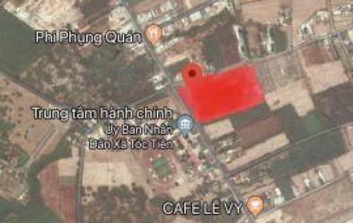 Bán đất ngay trung tâm hành chính Chấu Pha- Tóc Tiên, Bà Rịa- Vũng Tàu