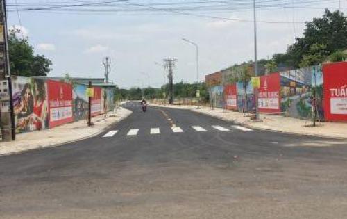 Bán đất sổ hồng ngay chợ Vĩnh Tân Vsip 2, 75m2, 690 triệu, thổ cư 100%. LH 0932077299