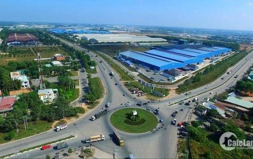 Đất mặt tiền ĐT747 chỉ 490tr cạnh UBND Khánh Bình KCN Nam Tân Uyên LH:0961890990