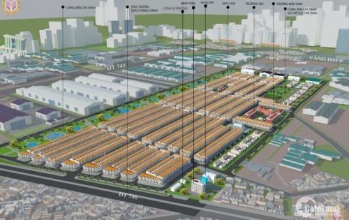 Đất nền dự án Nam Tân Uyên giá rẻ