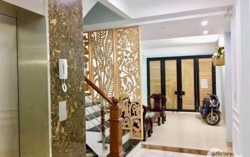 (Vi Tùng) Nhà đẹp nhất Đội Cấn homestay lãi cao thang máy ô tô 13.6 tỷ Ba Đình