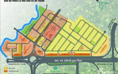 Bán đất vị trí Vàng 4x20 sổ hồng chính chủ, kdc Nam Long an thạnh, bến lức