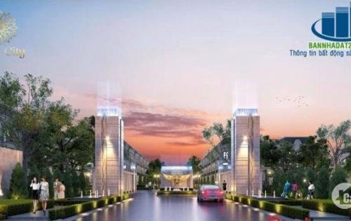 Mở bán nhà phố dự án solar city tại bến lức