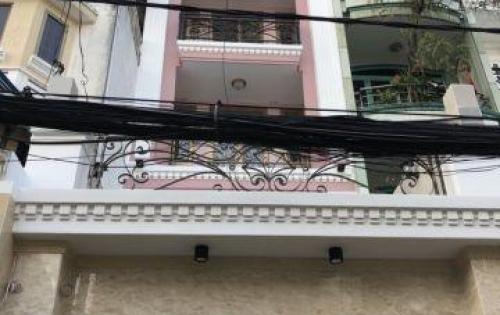 Bán MT Bạch Đằng, P. 15, Bình Thạnh, 4x28m, trệt, 4 lầu, sân thượng