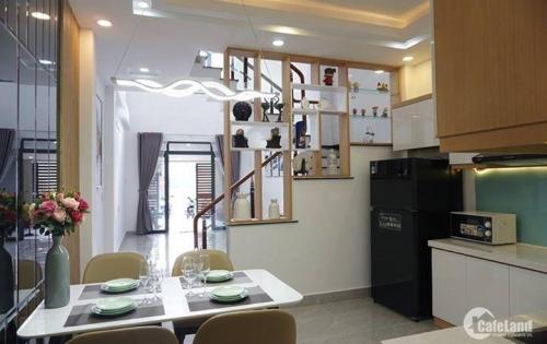 Bán nhà 100m2, 4 tầng, HXH, Phan Văn Trị phường 11 quận Bình Thạnh