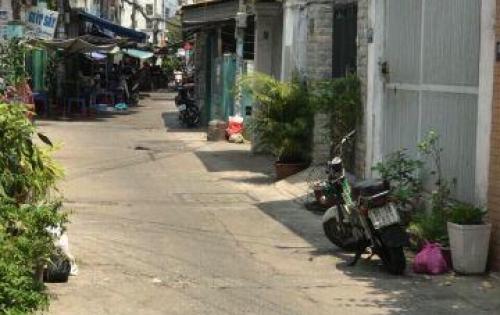Nhà hẻm 81/91b Nguyễn cữu vân  p17, q.bình thạnh. DT: 25.2m2, giá 1.9 tỷ
