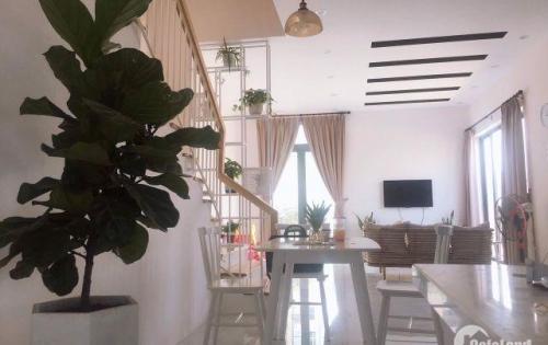 Bán nhà phố mới xây 3 tầng 2 mặt tiền đường Đậu Quang Lĩnh, đường thông đối diện trường mẫu giáo
