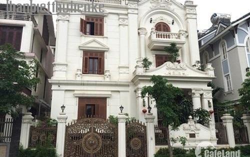 Bán biệt thự 4 tầng siêu đẹp mặt phố Trung Yên, Cầu Giấy. DT 215m2, MT 15m, giá 46 tỷ