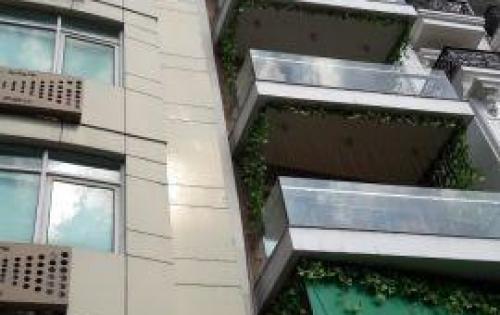 Bán nhà mặt phố trung tâm quận Cầu Giấy sổ đỏ 126m2 xây mới 8 tầng mặt tiền 7,2m 0948236663