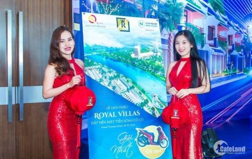Bán GẤP đất nền biệt thự Royal Villas sở hữu vĩnh viễn giá gốc F0. lh: 0936505580