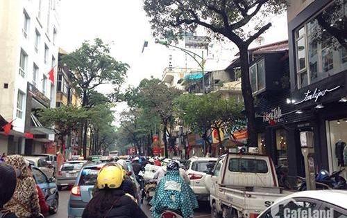 Bán nhà mặt phố Trần Hữu Tước, Đống Đa 55m2, 5 tầng, giá 13,8 tỷ, đắc địa mặt phố