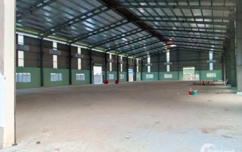 Cho thuê 6.000m2 có sẵn xưởng và văn phòng trong kcn Tân Đức Mở Rộng