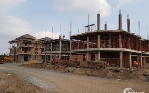 Bán gấp nhà phố 1 trệt 2 lầu 90m2 mặt tiền Hà Duy Phiên, SHR, MTG