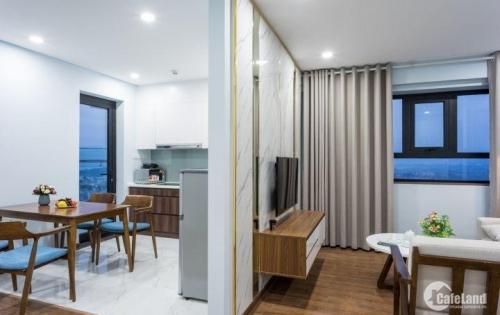 Bán căn hộ 2 phòng ngủ trung tâm Hạ Long, đủ đồ nội thất, sổ đỏ, cắt lỗ 100 triệu