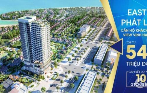 Dự án duy nhất ở Bãi Cháy, đầu tư LN 10%/năm, tặng 15 đêm nghỉ dưỡng tại KS, căn hộ view trọn vịnh