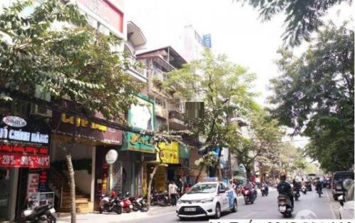 Bán nhà mặt phố Lạc Trung, Hai Bà Trưng, 2 thoáng, kinh doanh sầm uất, 77m2 giá 18.5 tỷ.
