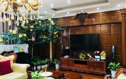 Bán biệt thự kiểu Pháp phố Lãng Yên, Hai Bà Trưng DT 95m2, 6tầng, Mt 6m giá 11.8 tỷ
