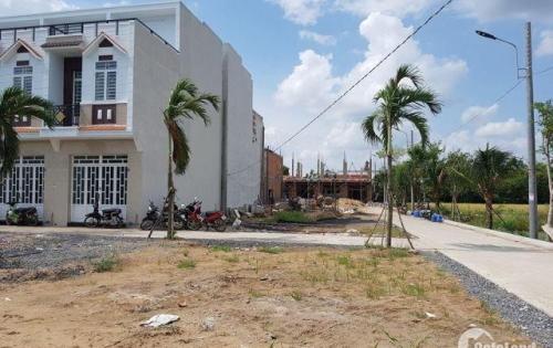 Bán nhà tại Quốc Lộ 50 giá 850 tr/ nền dt 85m2 (4,5 x19m), SHR, QĐ 1/500.