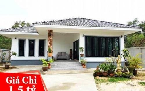 Biệt thự Huyện Bình Chánh 200m² DREAM_HOME, giá 1 tỷ 500tr sở hữu SHR