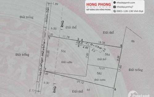 Đất Bán 8.6Tỷ - 508.3m2 Phạm Hữu Lầu, Phước Kiển, Nhà Bè