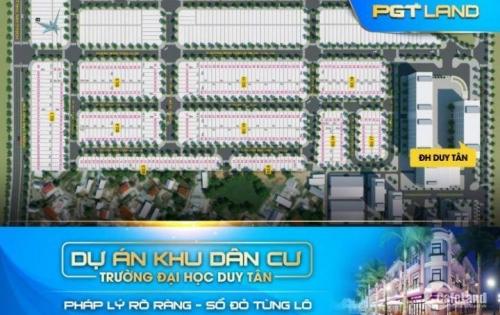 KDC trường Đại học Duy Tân, Liên Chiểu, Đà Nẵng, sổ đỏ công chứng ngay. LH: 0935.870.73