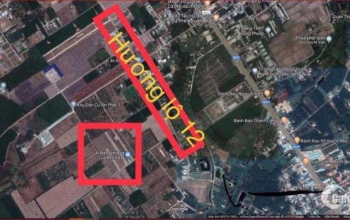 Cần bán đất mặt tiền Hương lộ 12,thổ cư.300tr/100m2