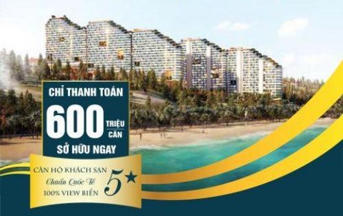 Suất đầu tư cực kì tốt khi sở hữu căn hộ khách sạn 5* tại TP Phan Thiết chỉ với 600 triệu đồng