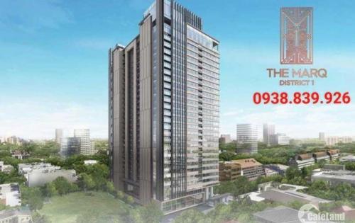 Chỉ 4 tỷ Sở hữu ngay căn hộ quận 1 the marq Nguyễn Đình Chiểu 0938839926