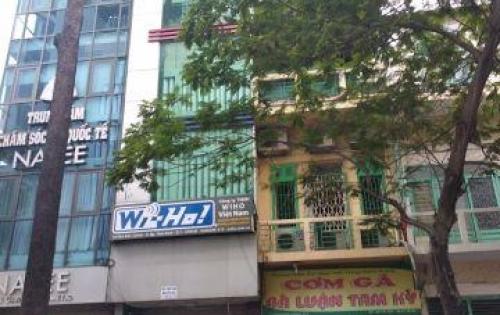 Bán gấp nhà Mặt tiền Trần Hưng Đạo, p Cô Giang, Quận 1; 5x8m,4 lầu,giá rẻ 23 tỷ