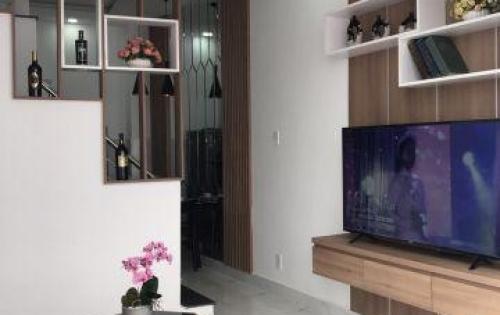 #cần sang gấp căn nhà đường Tô Ngọc Vân, nhà mới đúc 1 trệt 2 lầu thiết kế đồng bộ.