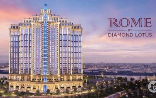 Căn hộ Rome Diamond Lotus Q.2, tiêu chuẩn xanh quốc tế, CK 7%