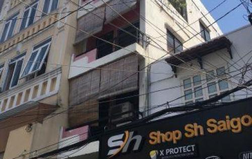 Gia đình bán nhà hẻm 10m, 4 tầng. Giá 10,5 tỷ. Nguyễn Đình Chiểu, Quận 3.