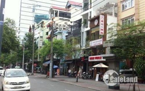 Bán nhà 2 MT đường Cao Thắng gần góc Võ Văn Tần, DT : 7,3x20, GPXD hầm lửng, 6 lầu, ST