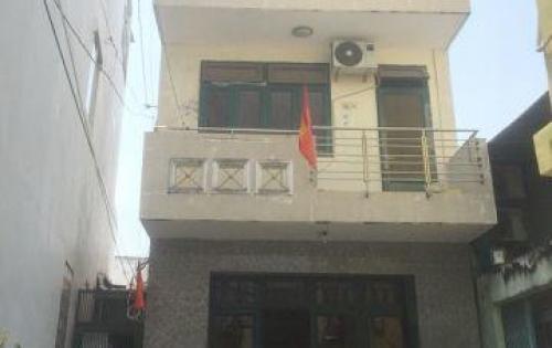 Bán nhà 2 lầu đúc hẻm 8m 1041 Trần Xuân Soạn quận 7 (nở hậu).