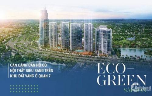 Eco green Saigon – khu phức hợp 5 sao, chiết khấu 9%, vay lãi suất 0%
