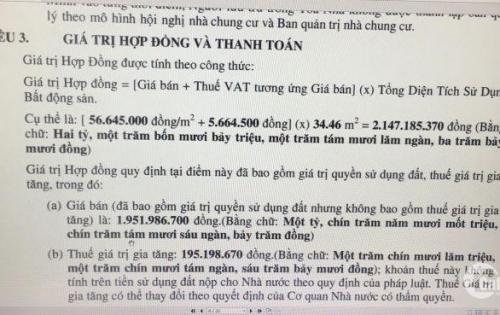 Bán gấp căn hộ officetel Golden King, Nguyễn Lương Bằng, Q7 . Tầng 16, DT 37m2, giá 2.147 tỷ ( bằng giá lúc mua ).