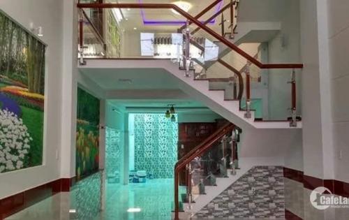 Bán nhà phố 3 lầu, ST hẻm 487 Huỳnh Tấn Phát, P. Tân Thuận Đông, Q7