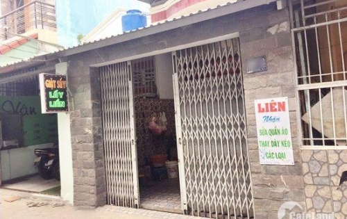 Bán nhà phố trệt, lửng đúc hẻm xe hơi 1005 Trần Xuân Soạn, P. Tân Hưng, Q7.