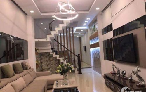 Nhà bán 58m2, 3 tầng, hẻm xe hơi Âu Dương Lân phường 3 quận 8