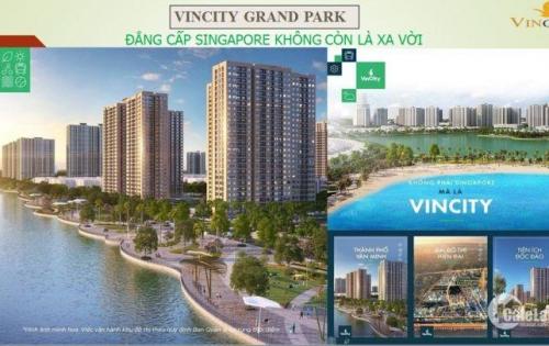 Cơ hội trong tầm tay, căn hộ siêu tiện nghi Vinhomes Central Park quận 9
