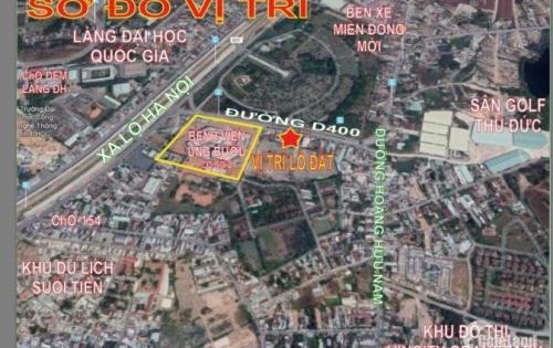 Nhà Vị Trí Vàng, Mặt Tiền Kinh Danh Đường 400 bệnh viện ung Bướu, Hoàng Hữu Nam, P.Tân Phú, Q9