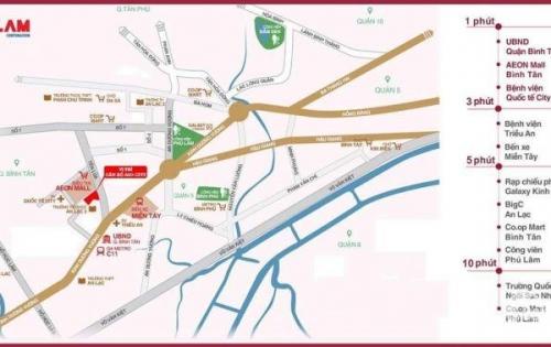 Săn Ngay Căn Hộ AIO 4.0 Hot Nhất Binh Tân, Vị Trí Vàng
