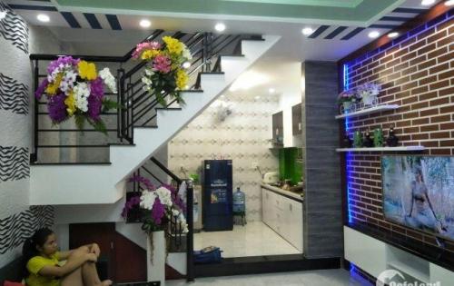 Nhà đẹp 1T 1L đúc thật, 4x8, HXH Phạm Văn Chiêu, P14, Giá 2.8 tỷ