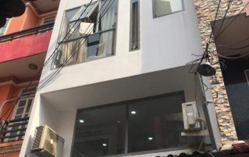 Bán nhà HXH, 5 tầng, ngang 4m. 52m2. Giá 7,5 tỷ. Xuân Diệu, P 4, Tân Bình.