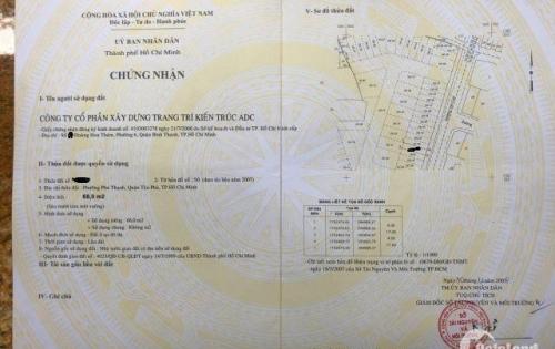 Cần bán nhà MTKD  cực sung  Văn Cao P,Phú Thạnh Q,Tân Phú  dt 4x17  1 trệt 2 lầu st