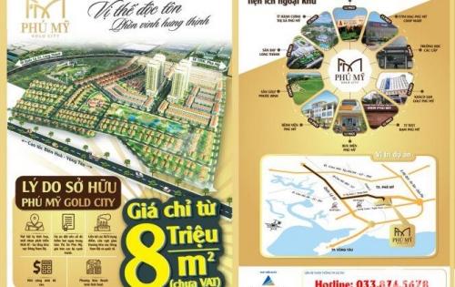 Khu đô thị hiện đai ngay trung tâm thành phố cảng Phú Mỹ, BRVT