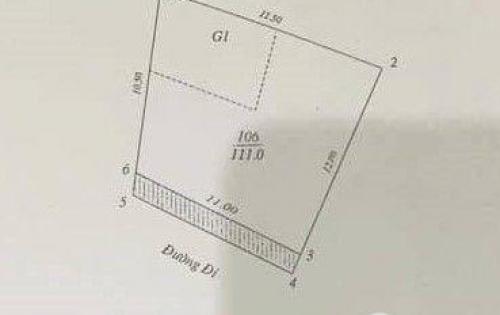 Bán đất 111m2 QUAN NHÂN chỉ 11.4 tỷ LH Bùi Hiên 0327844141